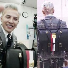 ジードラゴンがバラエティー【無限挑戦】で持って話題のリュック!!/BIGBANG/韓国リュック