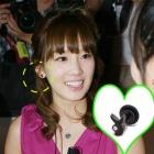 少女時代のテヨン&SUPER JUNIOR(スーパージュニア)イトゥクが着用したラビットピアス(ペアで販売)