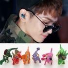 KEYファッション|SHINEEのキー ユニーク恐竜ピアス☆多様なカラーの可愛いピアス(個別販売)