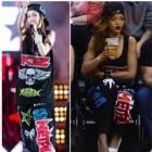 SANDARAファッション|2NE1のサンダラがKorean Music Wave in Bangkokで着用 KTZ st** スウェットパンツ