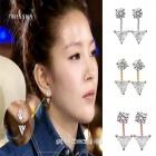 BOA私服通販★BOAがK-POP STARで着用したCUBIC POINTイヤリング(3色)