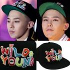WILD&YOUNG CAP ビックバンのG-ドラゴンstyle かわいいwild&young刺繍スナップバック