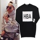BIGBANG愛用ブランドHBA st.ベーシックトレーナー(3color)