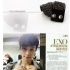 韓国の人気アイドルEXO,SHINeeが着用したチェーンレザーブレスレット