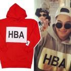 《EMS送料無料=3営業日到着》BIGBANG SOLとヤンゲン着用HBA st. ベーシックパーカー(3color)