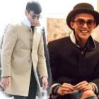 韓国人気アイドル★BIGBAMG G DRAGON・TOP着用THOME st.Single Trench Coat(2color)