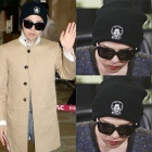 G-dragonが着用したJ@YR|CH st. ミッキーlogoニット帽(Black)