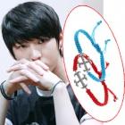VIXX Style★VIXXが着用したクロスString Bracelet