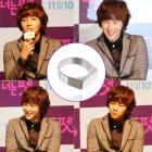 韓国人気俳優ジャングンソクが【君はペット】の会見で着用したModern Gackt Ring