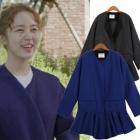 ★再入荷決定★ラッキーシュエトゥ風ユン・ウネがドラマ「未来の選択」で着用したウールコート[品切れ]