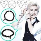 人気アイドルアクセサリ通販|EXO・B2AST着用Onyx ball bracelet