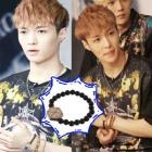 韓国人気アイドルEXO着用アクセサリ通販★EXO Lay Style. Wood beads Bracelet