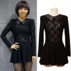 Miss A(ミス・エイ)ミンが韓国人気バラエティ「強心臓」で着用したシースルーワンピース