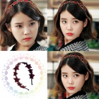 韓国新作ドラマ『キレイな男』のヒロインIU(アイユ)が着用した話題の星スタッドカチューシャ