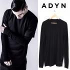《EMS送料無料=3営業日到着》ADYN(エーディーワイエヌ)風アームウォーマロングTシャツ(3color)レイヤードしやすいファッションアイテム