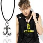K-POP IDOLアクセサリ通販EXO TAO着用Antique Anchor Necklace