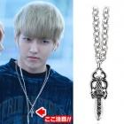 ★EXO着用スタイル激安私服通販★EXO Silver Sword Necklace