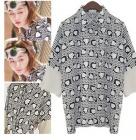 チョン・ジヒョンが人気ドラマ『星から来たあなた』で着用したハートパタンブラウス