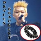 k-pop通販★アイドルスタイル☆BBCアイドル愛用☆Black Devil Bracelet☆アイドル愛用アイテム☆