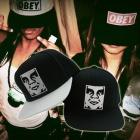 OBEY(オベイ)風ロゴFace 入り帽子(男女兼用)大人気のストリートファッション必需アイテム