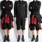 B系ファッション通販BIGBANG GD愛用ブランドCH風Stylish Jump Suit(上・下取り外し可能)