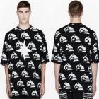★★SALE★★海外人気ストリートファッション通販K*KON TO ZAI KTZ風Flag Point Printing半袖Tシャツ(2Color・男女兼用)