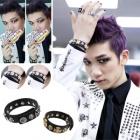 韓国人気アイドルアクセサリ通販|VIXX着用スタイルSkull and Cross Bracelet