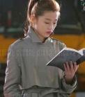 韓国人気ドラマ【星から来たあなた】ヒロインチョン・ジヒョン着用スタイルのMiss トレンチコート