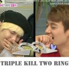K-POP IDOL SHINee Key着用スタイル Triple Kill Two Ring アクセサリ通販