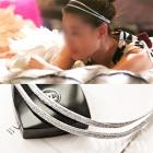 韓国人気ドラマ【星から来たあなた】ヒロインチョンジヒョン着用 Two ring hair band (2 color)
