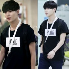 SHINeeテミン私服通販人気ストリートファッションPigalle st.捺染プリンティング半袖Tシャツ(男女兼用・3color)