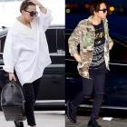 ★Reorder Specials Price★ファッションリーダーG-DRAGON空港ファッション S. Lau*en style Damage Black Pants ダメージ ブラック パンツ