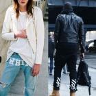 ★★残りわずか★★《EMS送料無料=3営業日到着》ストリートファッション通販|セレブーたちが愛用するOFF-WHIT* スタイルのジーンズが入荷!!