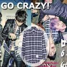 2PMの新曲「GO CRAZY!」、イ・ジョンジェ、ユ・アイン、キム・ウビンスタイル THOM* BROWN* st. 三ストライプチェックシャツ[TB]