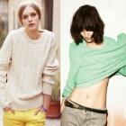 《EMS送料無料=3営業日到着》ストリートファッション通販|ACN*style ケーブル編み ニット(男女兼用/4color)