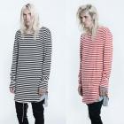 《EMS送料無料=3営業日到着》ストリートファッション通販|FEAR OF G@D st. striped round T-SHIRTS(男女兼用/2COOR)