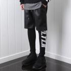 ストリートファッション通販|海外スターやセレブに愛される!GIV.style レザーショーツパンツ