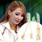 *SBSの人気番組Super MatchでCL着用!CL 2013 GZB EARRING 公式グッズ