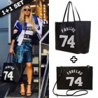 ☆Celebrity Style~!☆海外流行ファッションアイテムGV* st.FAVELAS 74 Shopper Bag & Clutch Bag セット