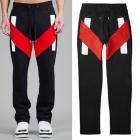 *《EMS送料無料=3営業日到着》ストリートファッション通販|3カラーVライン配色ジョガーパンツ(裏起毛)