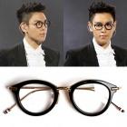 ★数量限定★BIGBANG TOP, 海外セレブに人気のファッションアイテムTB st. 1Aゴールドラウンドフレーム眼鏡/ビッグバン トップ