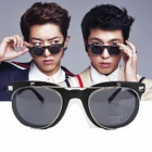 CNBLUE(シーエヌブルー)のチョン・ヨンファとイ・ジョンシンが写真撮影で着用オープンクリップサングラス