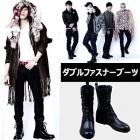 BIGBANG & GDRAGON MINI4集収録曲「トゥナイト」の撮影時に着用したスタイル! ダブルファスナーブーツ(牛革)