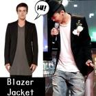 G-DRAGON MAMAの授賞式ファッションスタイル!RIC.O st.Slim Line One button Blazer Jacket