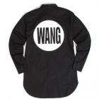 モノトーンロングシャツにプリントされているBIG ロゴが視線をキャッチ!!WANG BIG LOGO LONG SHIRTS