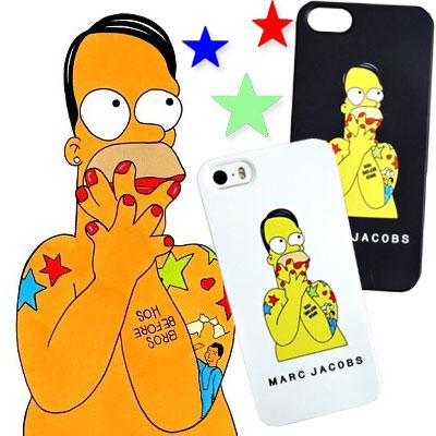 キャラクタースマホケース☆Simps@ x jac@bsコラボデザインsmartphone case(iphone5,iphone6,iphone6+)