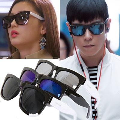 BIGBANG T.O.P,  ドラマ「星から来たあなた」チョン・ソンイ, 2NE1 ダラ, Afterschool・・・多数韓国芸能人愛用スタイルアクセサリー☆Mar* st.Two-tone line sunglasses