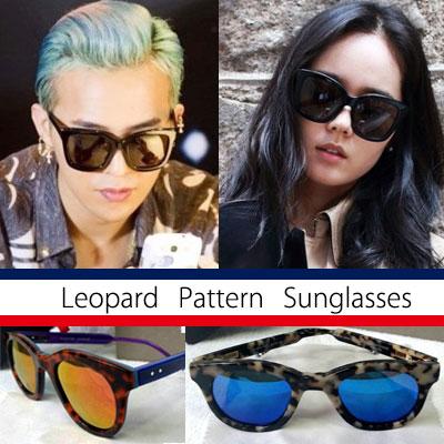 G-DARAGONSTYLE!俳優ハン·ガインら海外ファッションセレブに人気高い!LEOPARD SMART SUNGLASSES(3TYPE)