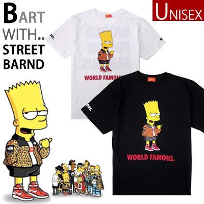 ファッションアイテムとしても愛されているシンプソン!今回はBART SIMPSONが高級ストリートブランドを着て登場!