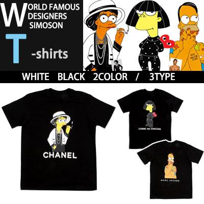 ワールドペイモスデザイナーXシンプソン コラボレーションTシャツ/SIMPSON X DESIGNERS WORLD FAMOUS